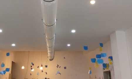 foto installatie kinderdagverblijf