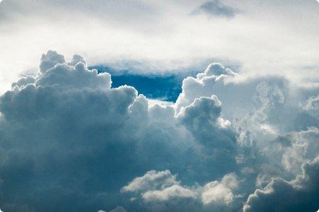 foto lucht en wolken
