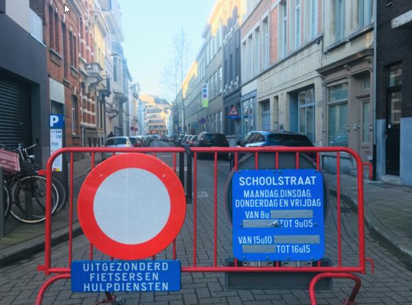 De Hertoginstraat is een schoolstraat.